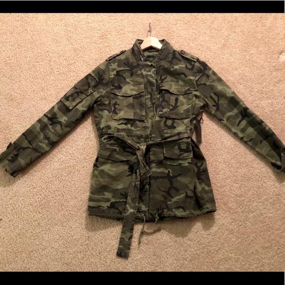 Forever 21 Jackets & Blazers - Camo Utility Jacket.